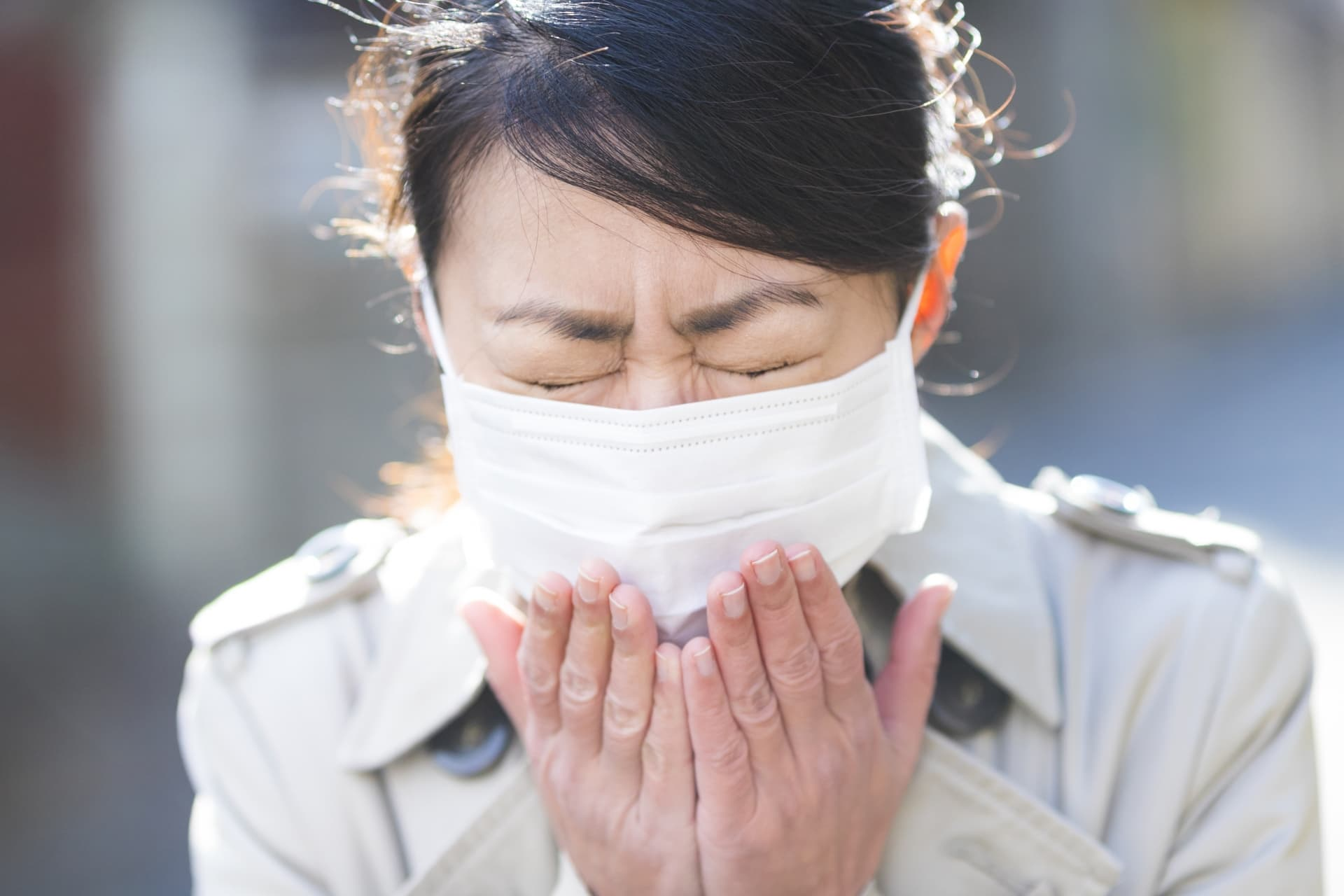 【尿ラボ」春は花粉症と尿漏れの季節…女性に多い腹圧性尿失禁
